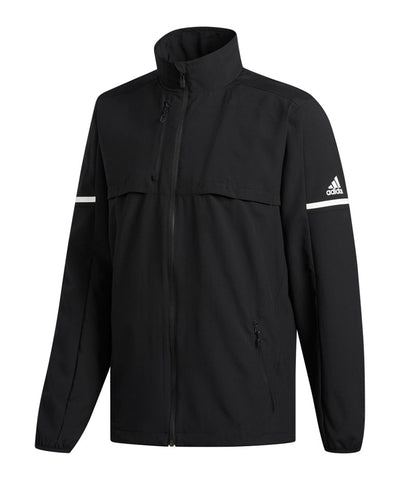 ADIDAS MEN'S RINK JACKET - BLACK