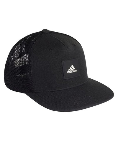 ADIDAS MEN'S SNAPTRUCKER HAT - BLACK