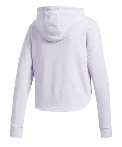 ADIDAS WOMEN'S BADGE OF SPORT HOODIE - PURPLE
