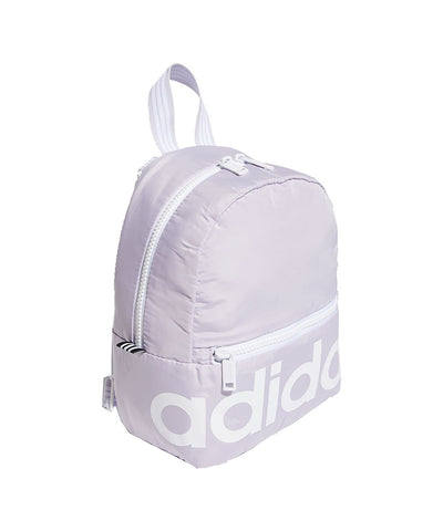 ADIDAS WOMEN'S LINEAR MINI BACKPACK - PURPLE