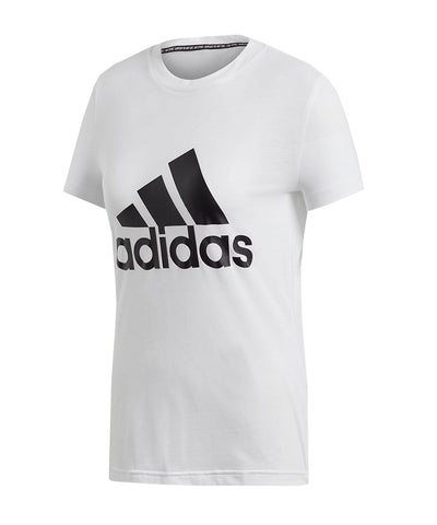 ADIDAS WOMEN'S  MUST HAVES BADGE OF SPORT T SHIRT - WHITE
