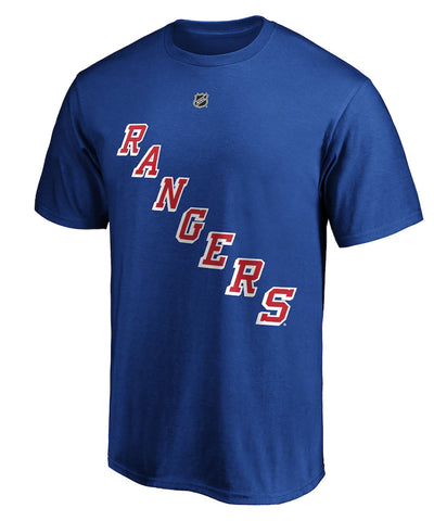ALEXIS LAFRENIRE NEW YORK RANGERS FANATICS MEN'S NAME AND NUMBER T SHIRT