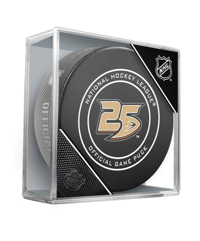 ANAHEIM DUCKS OFFICIAL 2018 NHL GAME PUCK