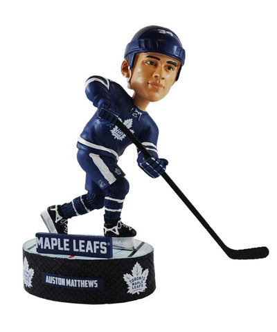 AUSTON MATTHEWS TORONTO MAPLE LEAFS FOCO ACTION BOBBLE HEAD