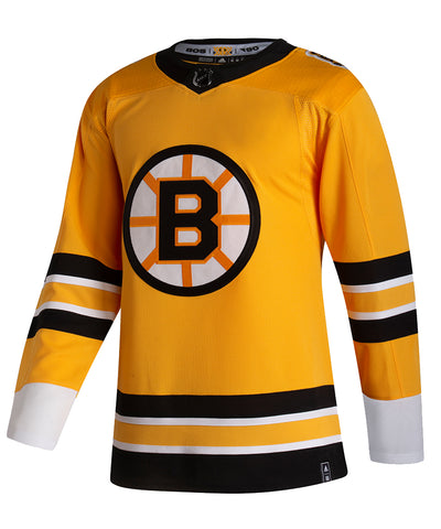 ADIDAS AUTHENTIC PRO BOSTON BRUINS REVERSE RETRO JERSEY
