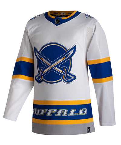 ADIDAS AUTHENTIC PRO BUFFALO SABRES REVERSE RETRO JERSEY
