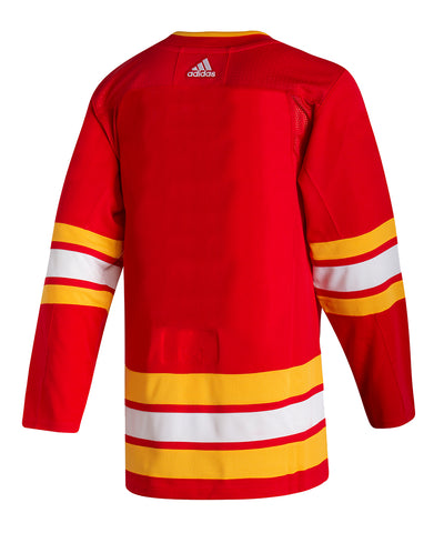 ADIDAS AUTHENTIC PRO CALGARY FLAMES HOME JERSEY