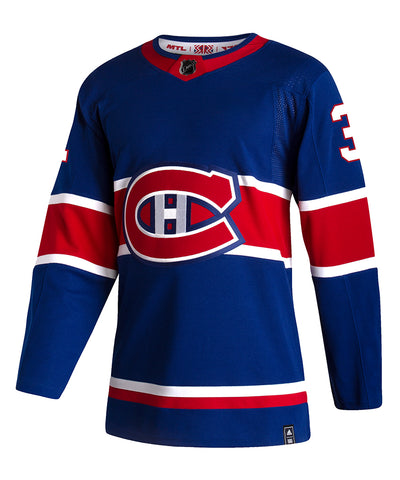 ADIDAS AUTHENTIC PRO CAREY PRICE MONTREAL CANADIENS REVERSE RETRO JERSEY