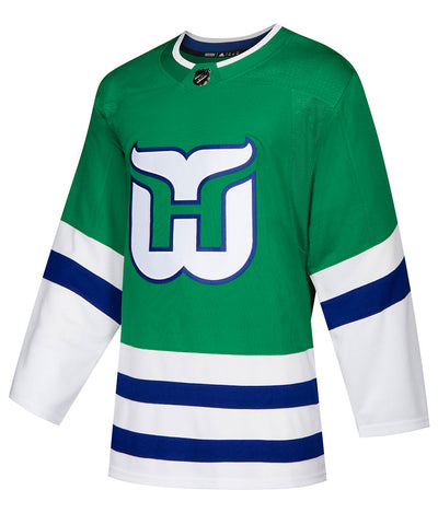 ADIDAS AUTHENTIC PRO HARTFORD WHALERS HERITAGE JERSEY