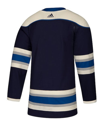 ADIDAS AUTHENTIC PRO COLUMBUS BLUE JACKETS THIRD JERSEY
