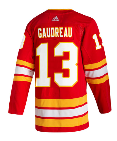 ADIDAS AUTHENTIC PRO JOHNNY GAUDREAU CALGARY FLAMES HOME JERSEY