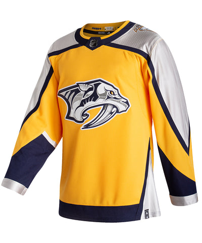 ADIDAS AUTHENTIC PRO NASHVILLE PREDATORS REVERSE RETRO JERSEY