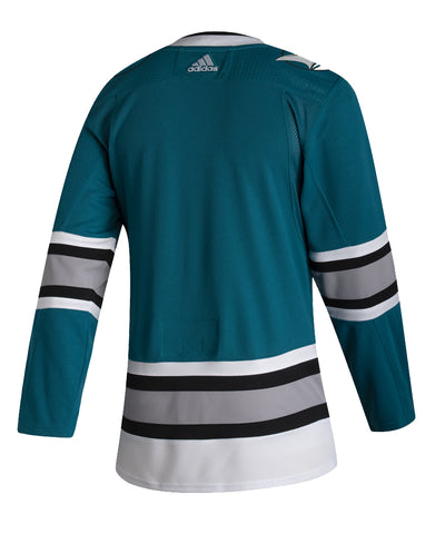 ADIDAS AUTHENTIC PRO SAN JOSE SHARKS HERITAGE JERSEY