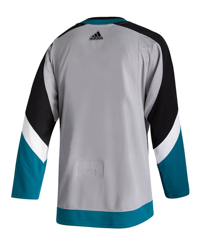 ADIDAS AUTHENTIC PRO SAN JOSE SHARKS REVERSE RETRO JERSEY