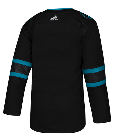 ADIDAS AUTHENTIC PRO SAN JOSE SHARKS THIRD JERSEY
