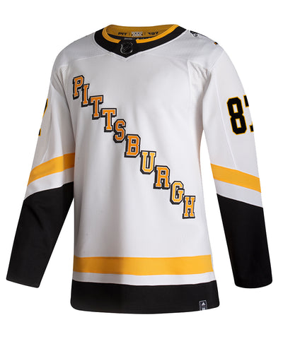 ADIDAS AUTHENTIC PRO SIDNEY CROSBY PITTSBURGH PENGUINS REVERSE RETRO JERSEY