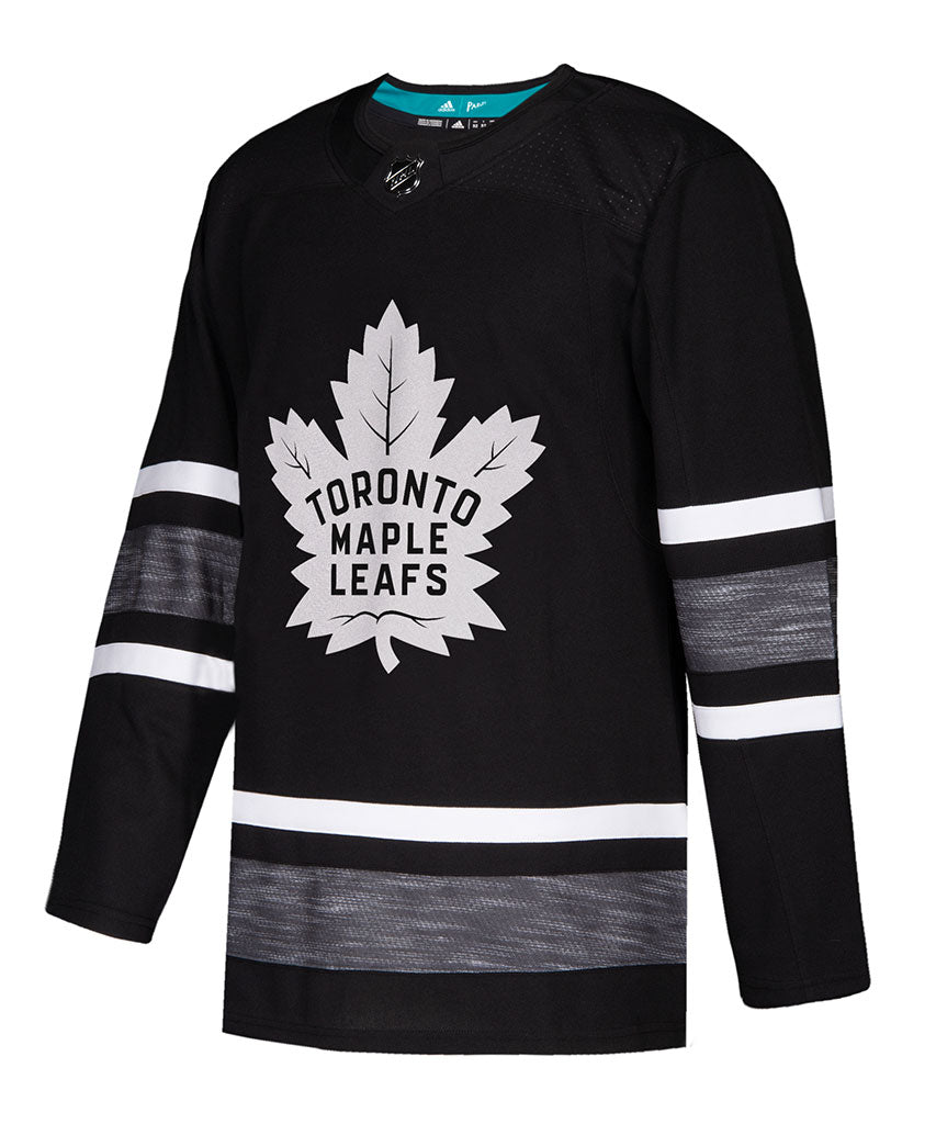 Toronto Maple Authentic 2019 All-star Nhl Black Parley Pro - Jersey Adidas Leafs
