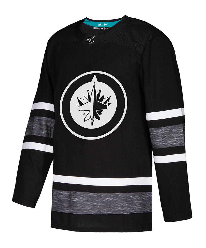 sale retailer d1251 08d93 ADIDAS AUTHENTIC PRO WINNIPEG JETS 2019 NHL ALL-STAR PARLEY JERSEY - BLACK
