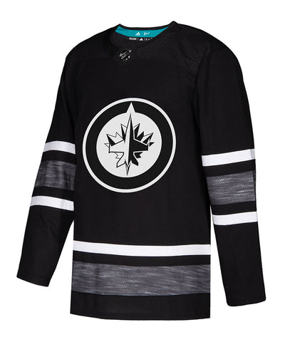 ADIDAS AUTHENTIC PRO WINNIPEG JETS 2019 NHL ALL-STAR PARLEY JERSEY - BLACK