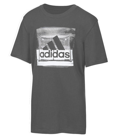 ADIDAS KID'S GOAL T SHIRT - GREY