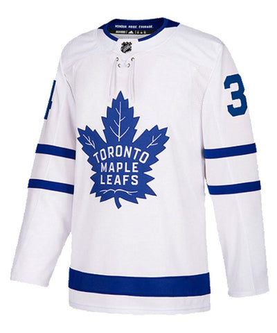ADIDAS AUTHENTIC PRO TORONTO MAPLE LEAFS AUSTON MATTHEWS AWAY JERSEY