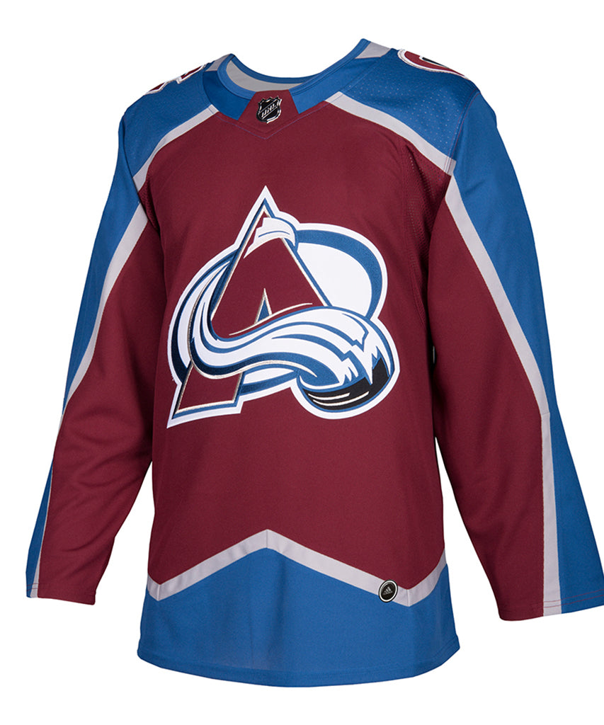 half off 6a934 6886e ADIDAS AUTHENTIC PRO COLORADO AVALANCHE HOME JERSEY