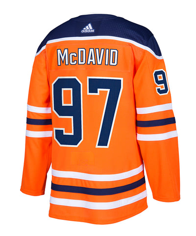 ADIDAS AUTHENTIC PRO EDMONTON OILERS CONNOR MCDAVID JERSEY
