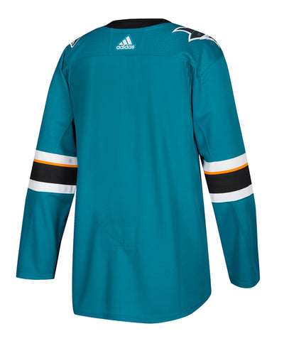San Jose Sharks Adidas Home Jersey