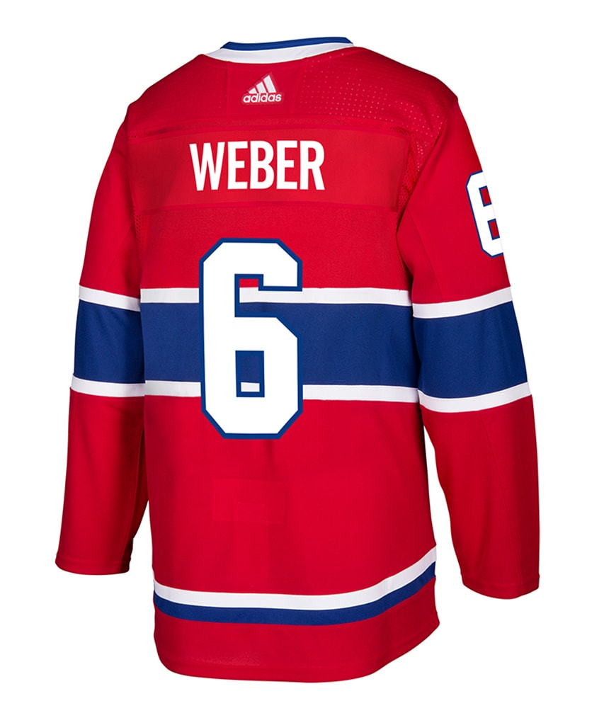 wholesale dealer c9bfb 4f10e ADIDAS AUTHENTIC PRO MONTREAL CANADIENS SHEA WEBER JERSEY