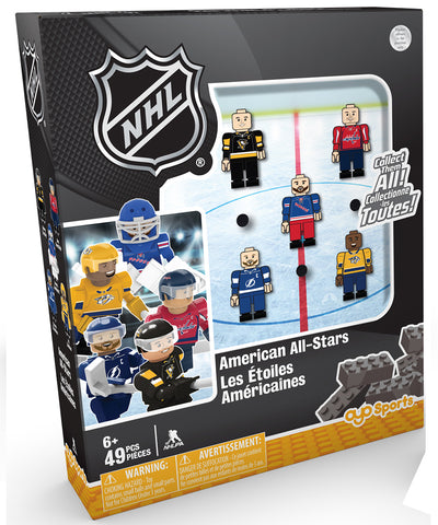AMERICAN NHL TEAM ALL STARS OYO FIGURE SET