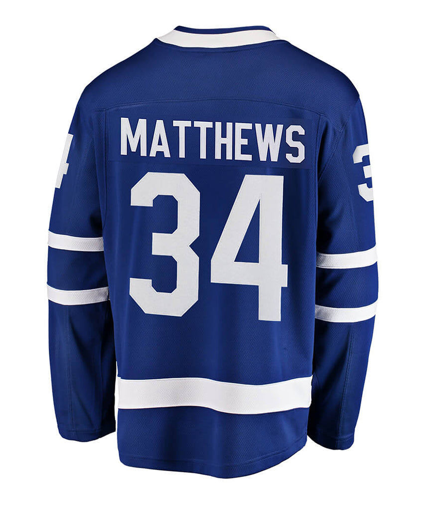 FANATICS TORONTO MAPLE LEAFS AUSTON MATTHEWS MENS BREAKAWAY JERSEY – Pro  Hockey Life 2b9e77d95d8