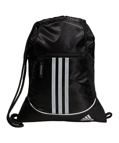 ADIDAS MEN'S ALLIANCE II SACKPACK - BLACK/WHITE
