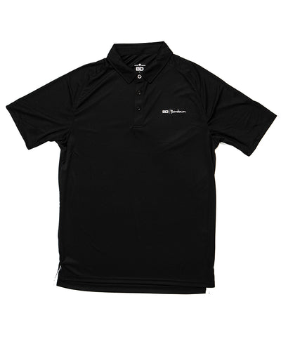 BARDOWN GOLF SHIRT - BLACK
