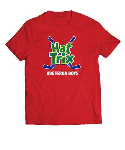 BARDOWN MEN'S HAT TRIX FERDA BOYS T SHIRT - RED