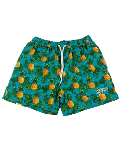 BARDOWN MEN'S PINEAPPLE BATHING SUIT - GREEN