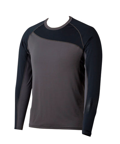 BAUER BOY'S PRO LONG SLEEVE BASE LAYER SHIRT