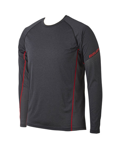 BAUER MEN'S ESSENTIAL LONG SLEEVE BASE LAYER SHIRT