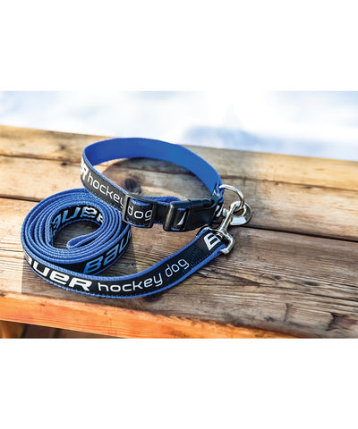 BAUER HOCKEY EMBROIDERED DOG LEASH