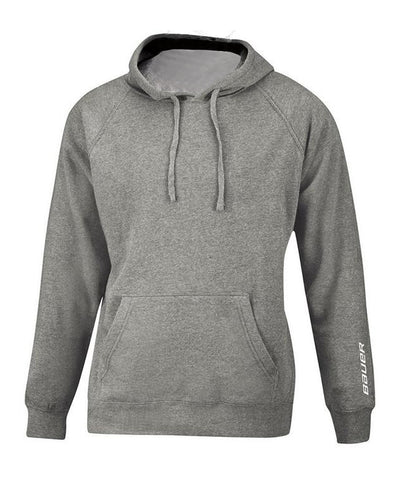BAUER KID'S CORE HOODIE - HEATHER GREY
