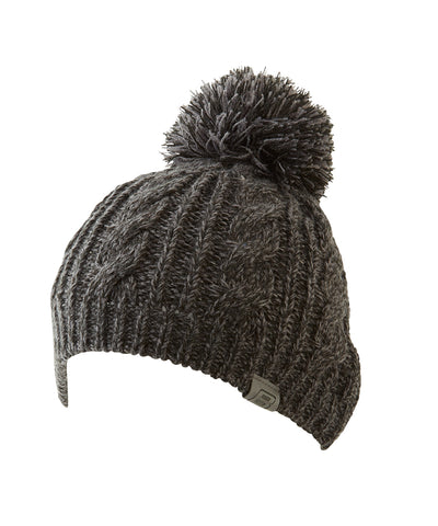 BAUER MEN'S CABLE KNIT POM TOQUE