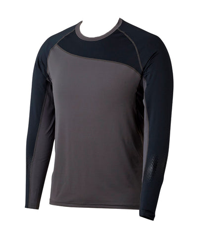 BAUER MEN'S PRO LONG SLEEVE BASE LAYER SHIRT