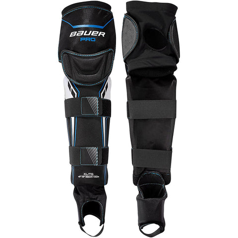 BAUER PRO BALL HOCKEY JUNIOR SHIN GUARD - 2018