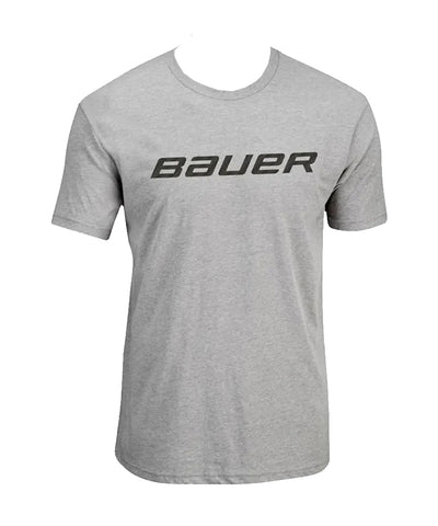 BAUER MEN'S CORE GRAPHIC CREW SHORT SLEEVE SHIRT - GREY