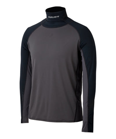 BAUER MEN'S NECKPROTECT LONG SLEEVE NECK GUARD