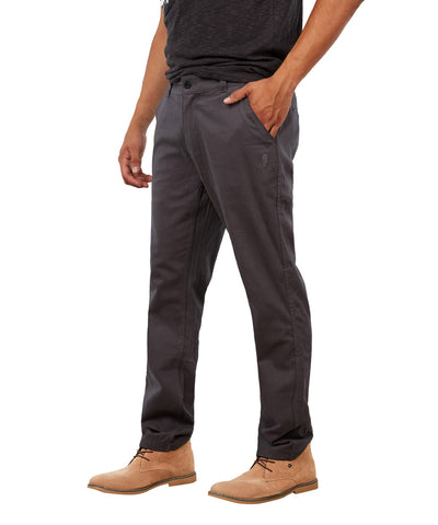 GONGSHOW MEN'S DARK GREY CHINOS PANTS