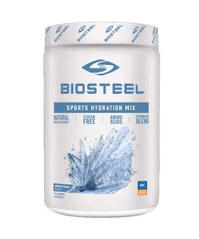BIOSTEEL NATURAL HIGH PERFORMANCE SPORTS DRINK -  WHITE FREEZE 315g