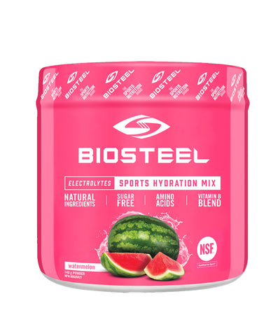 BIOSTEEL NATURAL HIGH PERFORMANCE SPORTS DRINK - WATERMELON 140g