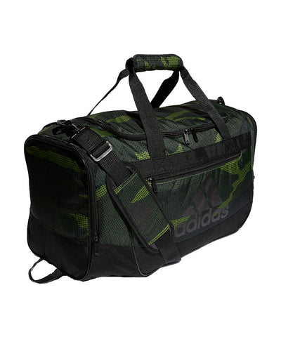 ADIDAS DEFENDER III MD DUFFLE BAG - CAMO/BLACK