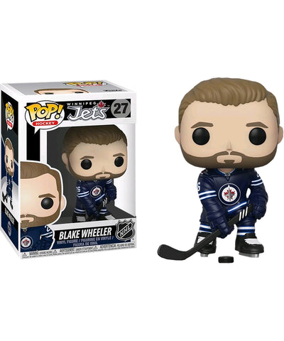 BLAKE WHEELER WINNIPEG JETS FUNKO POP! VINYL NHL FIGURE