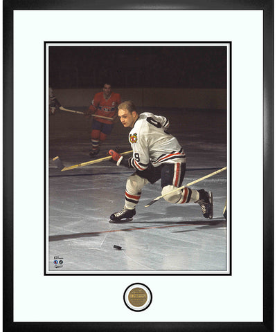 BOBBY HULL CHICAGO BLACKHAWKS ICONS COLLECTION - 18X22